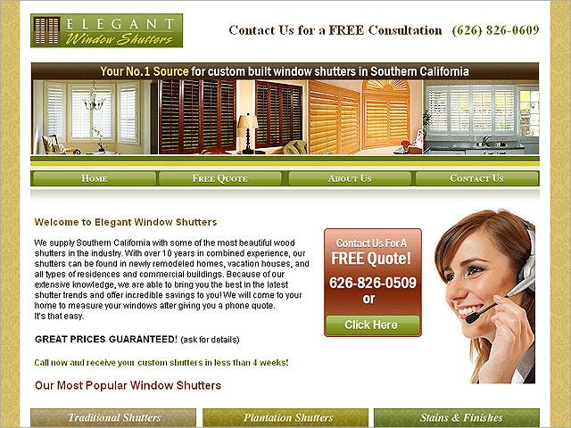sample web page design DriverLayer Search Engine